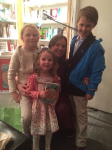 With three of my gorgeous niecephews - my biggest fans :-)